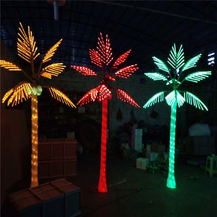 LED Coconut Lighted Palm Trees | Decorative Lighting
