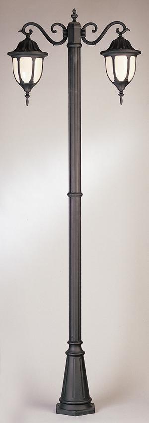 4043 Powder Coated Cast Aluminum Post Light