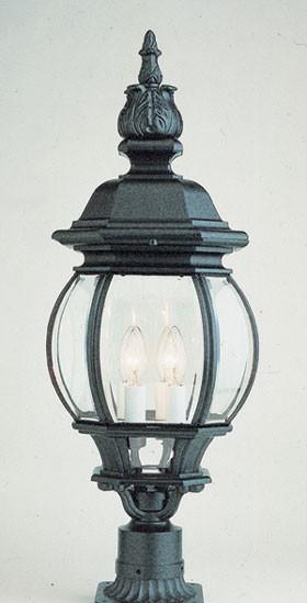 4062   Powder Coated Cast Aluminum Pilaster Light