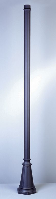 Standard Pole  4099 Powder Coated Cast Aluminum