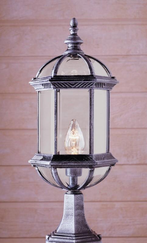4182  Powder Coated Cast Aluminum Pilaster Light