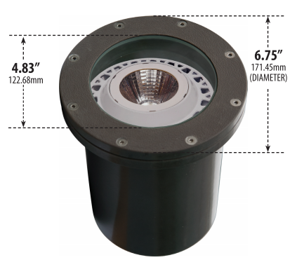 FG-LED 4450 120 Volt Fiber Glass Well Light