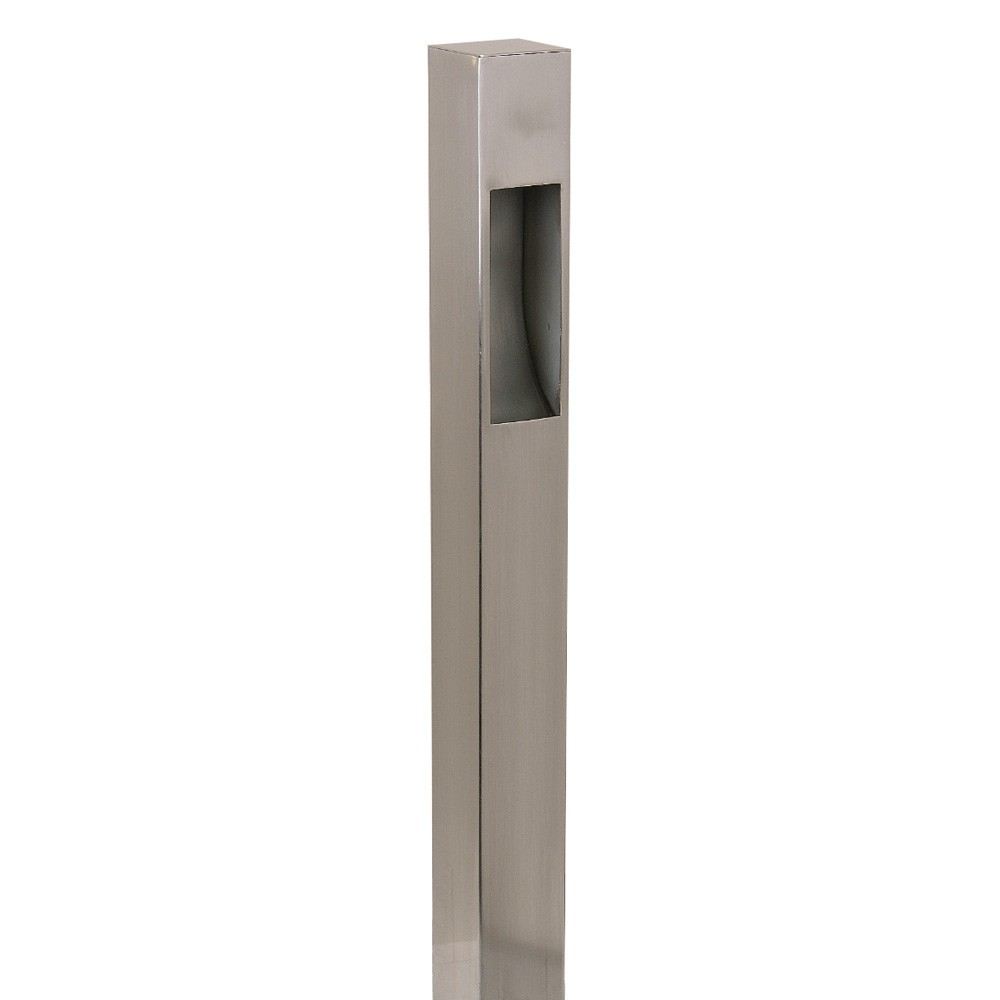 CC24-2REC Solid Brass Bollard Light 120v or 12v One Sided Perfect for Seaside Locations