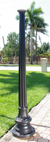 CGP  6.5ft Commercial Post and Base