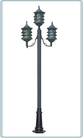 GM 1803 Powder Coated Cast Aluminum Post Light