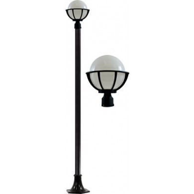 GM 2600 Powder Coated Cast Aluminum Post Light