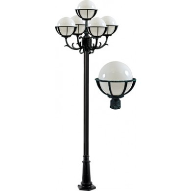 GM 2680 Powder Coated Cast Aluminum Post Light