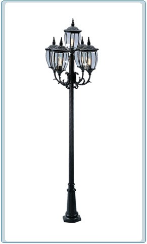 GM 3005 Powder Coated Cast Aluminum Post Light
