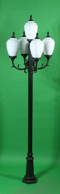 GM 4005 Powder Coated Cast Aluminum Post Light
