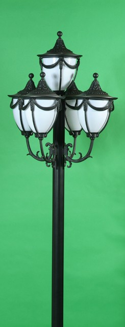 GM 4805 Powder Coated Cast Aluminum Post Light