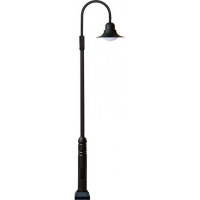 GM 6100 Powder-coated cast aluminum Pole Light / Parking lot lighting / Street Light