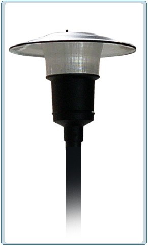 Post lights commercial outdoor lighting illuminator wholesaler gm 650 powder coated cast aluminum led post light aloadofball Image collections