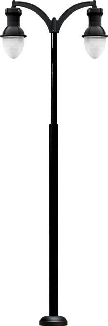 GM 9220 Powder-coated cast aluminum Street Light / Parking lot lighting / Street Light