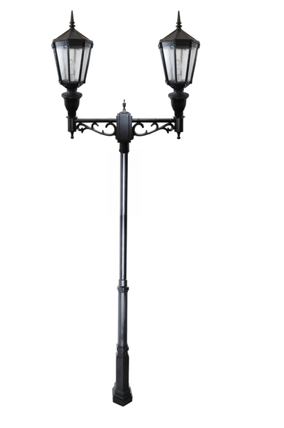 ZL-7002  Cast Aluminum LED Double Head Post Light