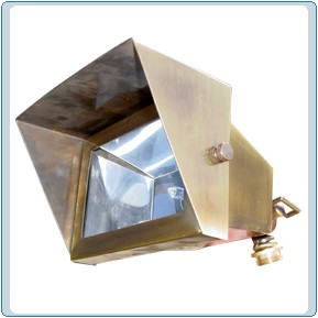 LV 117 Solid Brass Flood Light