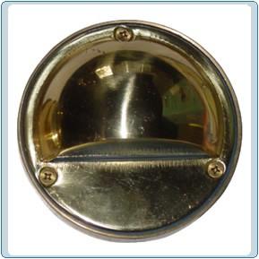 LV 611 Low Voltage Solid Brass Step Light
