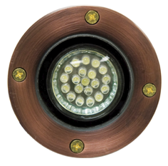 LV 25 LED Low Voltage  Well Light