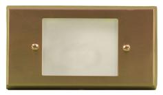 LV 612 LED Low Voltage Brass Step Light