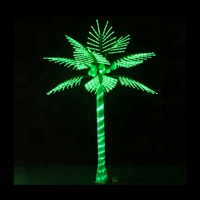 LED Coconut Palm Tree Sizes 10ft  Available Colors:  Green
