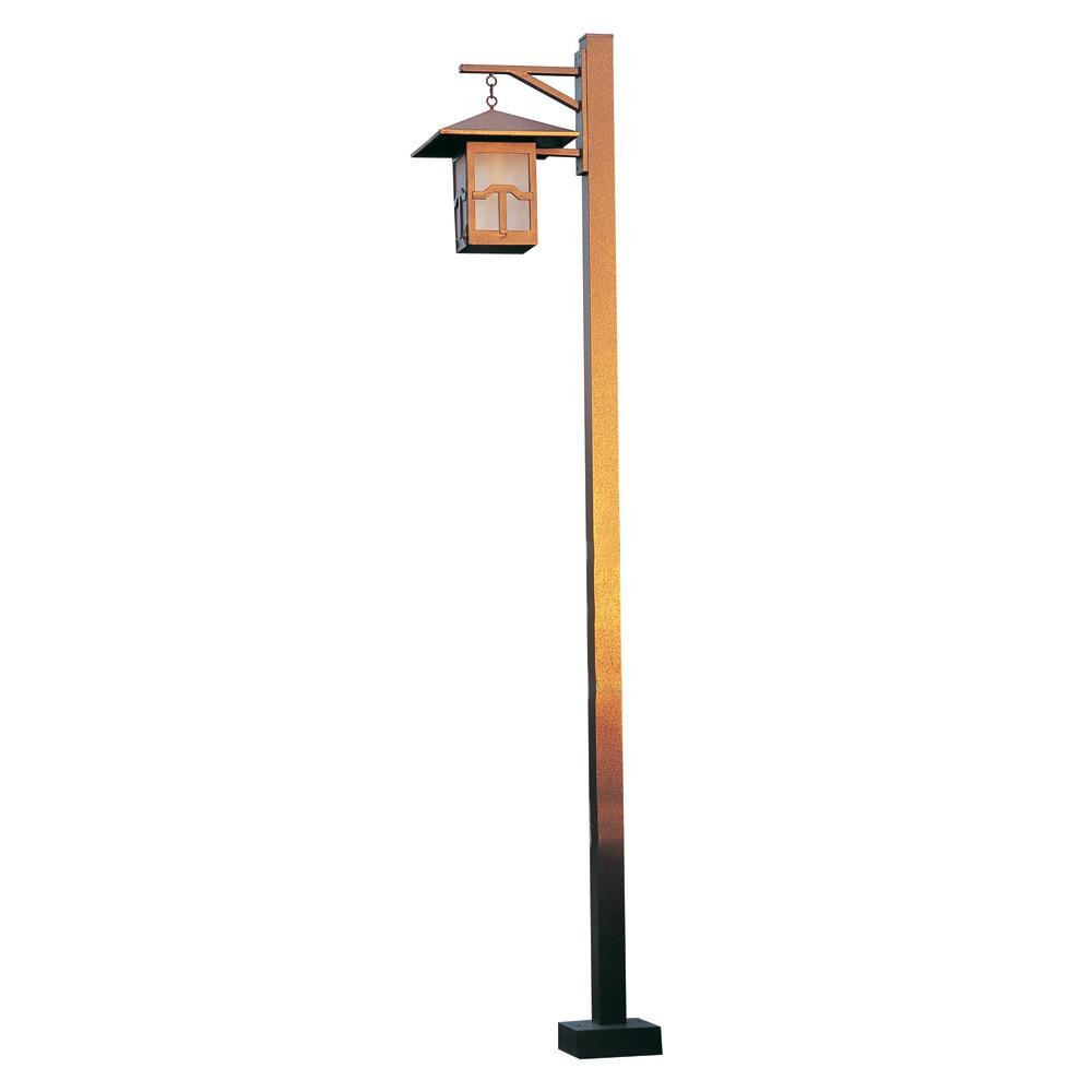 LUM 531  Powder Coated Cast Aluminum Finish Pole Light / Parking lot lighting / Street Light