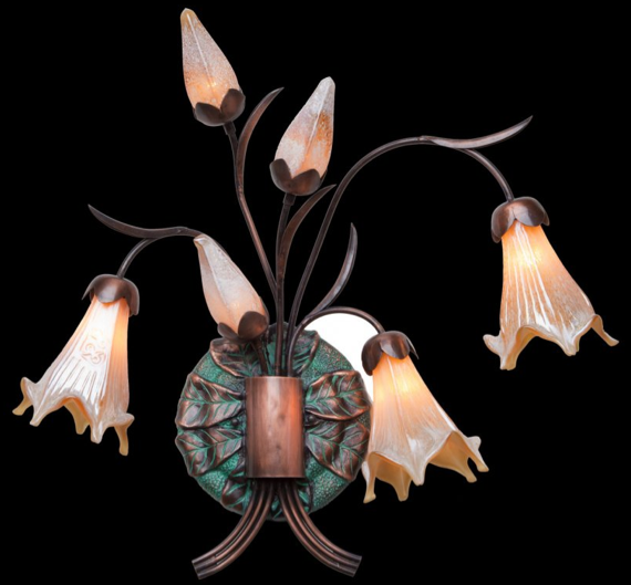 6 Light Sconce Garden Light