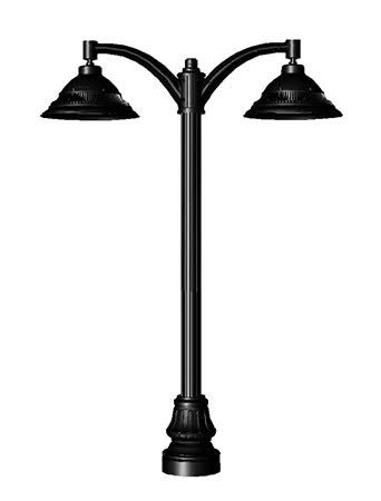Teresa 102 Double Head Post Light / Parking lot lighting / Street Light