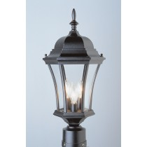 4504 Powder Coated Cast Aluminum Post Light