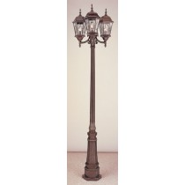 4719  Powder Coated Cast Aluminum Finish Pole Light