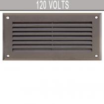 DSL 1000 120 Volt Powder Coated Cast Aluminum Step Light