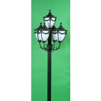 GM 4805 Powder Coated Cast Aluminum Post Light