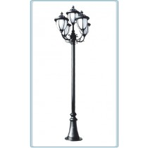GM 5505 Powder Coated Cast Aluminum Post Light