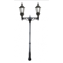 ZL-6002 Cast Aluminum LED Double Head Post Light
