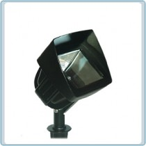 LV 105 Hood  Low Voltage Cast Aluminum Flood Light
