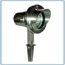 LV 11 Stainless Steel Hooded Spotlight
