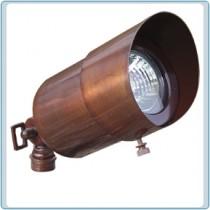 LV 29 With Hood Solid Brass Spot Light