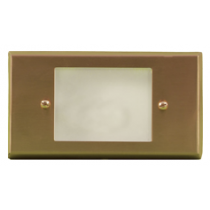 LV 612 LED Low Voltage Brass Step Light
