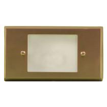 LV 612 LED Low Voltage Brass Step Light  sc 1 st  Illuminator Wholesaler & Outdoor Step Lights u0026 LED Step Lighting | Illuminator Wholesaler azcodes.com