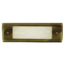 LV 614 LED Low Voltage Brass Step Light