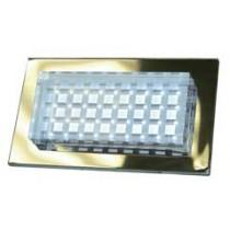 LV 65 LED Low Voltage Powder Coated Cast Aluminum Step Light