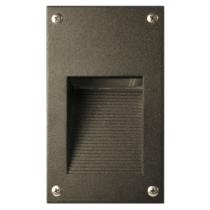 LV 670 LED Low Voltage  Powder Coated Cast Aluminum Step Light