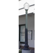 W 9 Post Light / Parking lot lighting / Street Light